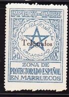 Marokko Telegraaf Ed.nr. 34M - Spanisch-Marokko
