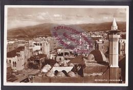 Q1413 - BEYROUTH - Panorama - Liban - Lebanon