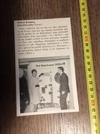 ANNEES 60 PUBLICITE STAND EXPOSITION DOLIS BONBONS SAINT FLORENTIN NOUGAFLO CROCVIT ROCK SENSASS - Alte Papiere