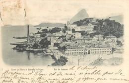 RIO DE JANEIRO MORRO DA GLORIA ENTRADA DA BARRA BRESIL AMERIQUE - Rio De Janeiro