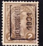 Luxembourg 1901 Prifix Nr. 3A - Luxemburgo