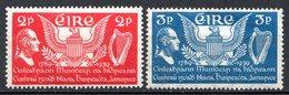 IRLANDE - (Etat Indépendant) - 1939 - N° 75 Et 76 - (150è Anniversaire De La Constitution Des Etats-Unis) - 1922-37 Stato Libero D'Irlanda