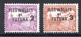 WALLIS ET FUTUNA - YT Taxe N° 9-10 - Neufs * - MH - Cote: 40,00 € - Wallis-Et-Futuna