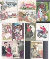 Lotto 12 Cartoline Ristampe Vintage . - Cartoline
