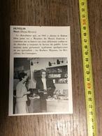 ANNEES 60 PUBLICITE STAND EXPOSITION HUVELIN NIORT CHOCOLATIER MOJETTES DE MARAIS POITEVIN - Alte Papiere