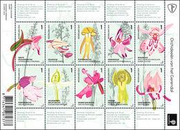 2014 Orchids MNH (11-4) - 2013-... (Willem-Alexander)