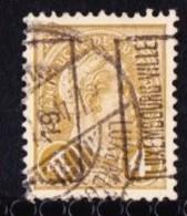 Luxembourg 1907 Prifix Nr. 35A Gestempeld - Prematasellados