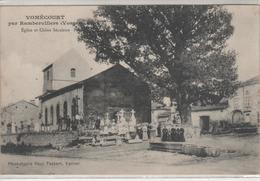VOMECOURT Par RAMBERVILLERS, église Et Chêne Séculaire - Rambervillers