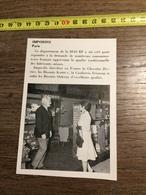 ANNEES 60 PUBLICITE STAND EXPOSITION IMPORDIS PARIS SIAS RF - Alte Papiere