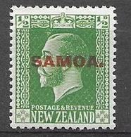 Samoa 1914 - King George V - Samoa