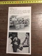 ANNEES 60 PUBLICITE STAND EXPOSITION IDC TOURCOING BISCUITERIE DU NORD PAINS D EPICES - Alte Papiere
