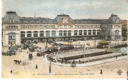 Postal Toulouse. Francia Nº 58. Le Gare Matabiau. Ref. 7f-2428 - Tranvía