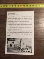 ANNEES 60 PUBLICITE STAND EXPOSITION LA CIGOGNE MAISONS ALFORT GOMME GLACON DES VOSGES VERRA - Alte Papiere