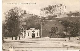 Postal Pau. Francia Nº 56. Le Funicular Et Le Boulevard. Ref. 7f-2429 - Tranvía
