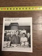 ANNEES 60 PUBLICITE STAND EXPOSITION CHABERT ET GUILLOT MONTELIMAR - Alte Papiere