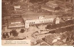 Postal Toulouse. Francia. Le Gare Matabian. Ref. 7f-2431 - Tranvía