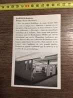 ANNEES 60 PUBLICITE STAND EXPOSITION BARNIER BONBONS ROUEN - Alte Papiere