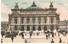 Postal Paris. Francia. L'Opera.  Ref. 7f-2433 - Tranvía