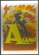 Carte Postale Illustration : Roger Soubie (cinéma Affiche Film Western) Alamo (John Wayne) - Manifesti Su Carta
