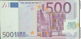 EURO FRANCE 500 T001  AUNC DUISEMBERG - 500 Euro