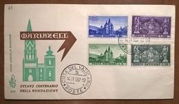 VATICANO FDC MARIAZEL 1957 - FDC