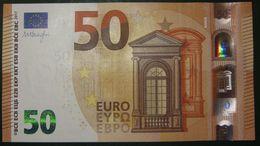 50 EURO S017F5 Italy DRAGHI Serie SA Ch 34 Perfect UNC - EURO