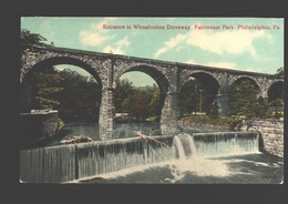 Philadelphia - Entrance To Wissahickon Driveway, Fairmount Park - Philadelphia