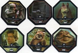 Lot 6 Cartes Star Wars - Star Wars