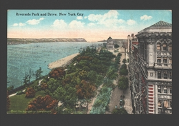 New York City - Riverside Park And Drive - New York City