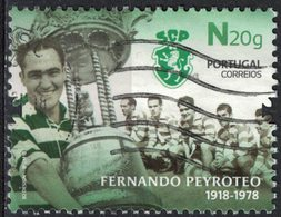 Portugal 2018 Oblitéré Used Footballeur Fernando Peyroteo Sporting Club De Portugal SU - 1910-... République