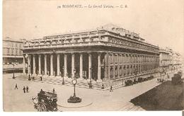 Postal Bordeaux. Francia. Nº 59. Le Grand Theatre.  Ref. 7f-2440 - Tranvía
