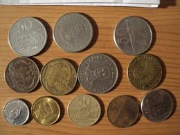 PARAGUAY. LOT DE 12 PIECES DE MONNAIE DIFFERENTES. 1975 / 2004 - Paraguay