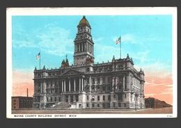 Detroit - Wayne County Building - Detroit