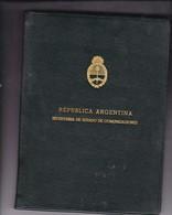 1ra ESTACION SATELITAL BALCARCE EDICION CUERO TELECOMUNICACIONES PRUEBAS PROOF PROBA AÑO YEAR 1969 RARE - BLEUP - Télécom