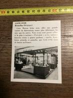 ANNEES 60 PUBLICITE STAND EXPOSITION CHOCOLAT COTE D OR BRUXELLES PASTADOR - Alte Papiere