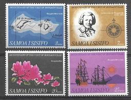 Samoa 1968 - 200 Years From The Visit Of Bougainville - Samoa
