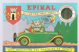 CPA Patrick HAMM Epinal XIV ème Rencontre Des Amateurs De Mathis 21 22 23 Août 1992 - Hamm