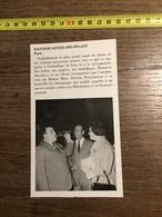 ANNEES 60 PUBLICITE STAND EXPOSITION DAVOISE SOYER ORLYPLAST PARIS - Alte Papiere