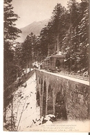 Postal Luchon-Superbagneres. Francia. Nº 100. Le Chemin De Fer A Cremaillere.  Ref. 7f-2445 - Tranvía