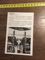 ANNEES 60 PUBLICITE STAND EXPOSITION COPPELIA CHAMBERY SYLVIA LE RUBAN BLEU - Alte Papiere
