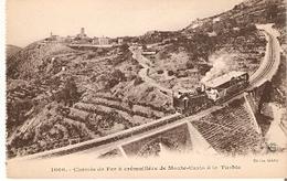 Postal Francia. Chemin De Fer A Cremalleire De Monte Carlo A La Turbie Nº 1000.  Ref. 7f-2447 - Tranvía