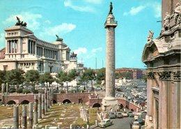 Roma - Monumento A Vitt. Em. II E Colonna Traiana - Roma (Rome)