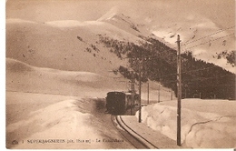 Postal Francia. Superbagneres. Le Funiculaire Nº 1.  Ref. 7f-2448 - Tranvía