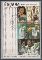 1988 SEOUL - Guyana - MiNr: 2500 Block41   Used - Sommer 1988: Seoul