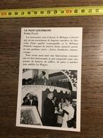 ANNEES 60 PUBLICITE LE NAIN GOURMAND CROIX MELANGE CARLTON HOPJES - Alte Papiere
