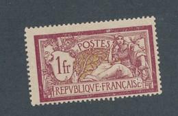 FRANCE - N°YT 121f) NEUF* AVEC CHARNIERE - COTE YT : 55€ - 1900 - 1900-27 Merson