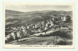 MONTELATERONE ( GROSSETO ) LATO NORD - VIAGGIATA FP - Grosseto