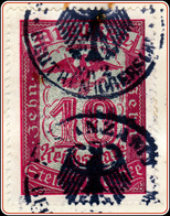 "Preußen Stempelmarke 10 RM Gott Mit Uns - Gericht Dokument Beuthen 1936 / German Slogan Of All Times - "" God With Us "" - Germany"