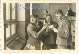 Frühling 1940, In Mayen (Eifel) - Im Büro - 12. Armee/Armeeoberkommando 12 (AOK 12) - Abteilung IV A - Krieg, Militär