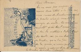 6-CARD IN FRANCHIGIA FRANCESE-CORRESPONDENCE DES ARME DE L REPUBLIQUE - Guerra 1914-18